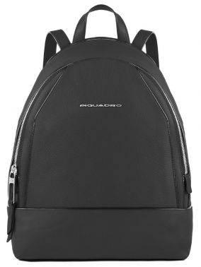Рюкзак женский Piquadro Muse черный, кожа натуральная (CA4327MU/N)