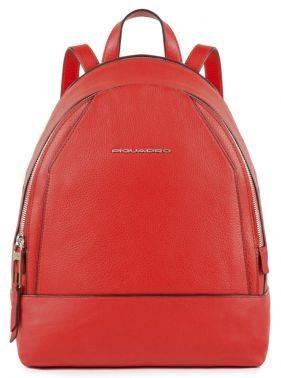 Рюкзак женский Piquadro Muse красный, кожа натуральная (CA4327MU/R)