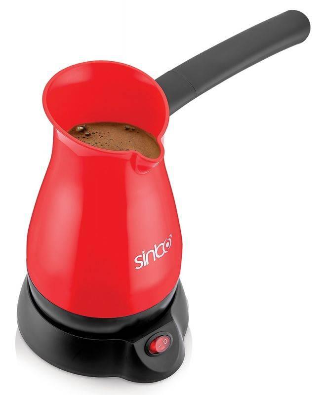 Кофеварка Электрическая турка Sinbo SCM 2948 красный - фото 1