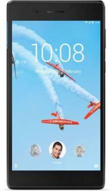 Планшет Lenovo Tab 4 TB-7304I черный, процессор MediaTek MT8735D, оперативная память 1Gb, встроенная память 16Gb, диагональ экрана 7, IPS, 1024x600, поддержка 3G, WiFi, BT, камера 2Mpix/2Mpix, GPS, Android 7.0, поддержка microSD до 128Gb, 3450mAh (ZA3100