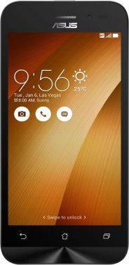 Смартфон Asus ZB452KG Zenfone Go золотистый, встроенная память 8Gb, дисплей 4.5 854x480, Android 5.1, камера 5Mpix, поддержка 3G, 2Sim, WiFi, BT, GPS, FM радио, microSD до 64Gb (90AX0148-M02060)