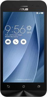 Смартфон Asus ZB452KG Zenfone Go серебристый, встроенная память 8Gb, дисплей 4.5 854x480, Android 5.1, камера 5Mpix, поддержка 3G, 2Sim, WiFi, BT, GPS, FM радио, microSD до 64Gb (90AX0149-M02070)