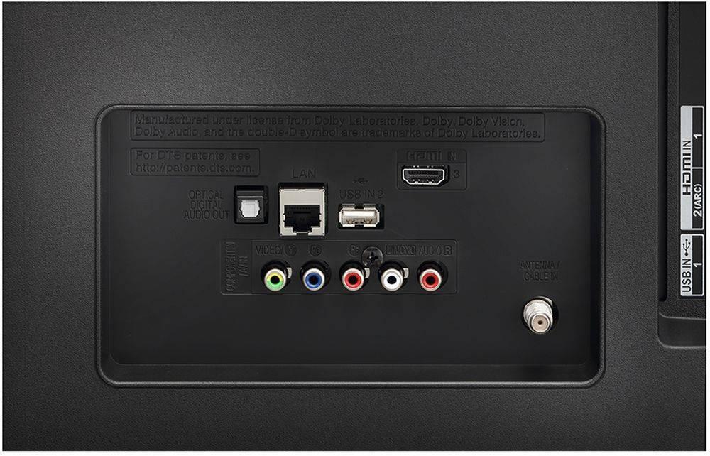"Телевизор LED 65"" LG 65UJ620V черный/коричневый - фото 5"