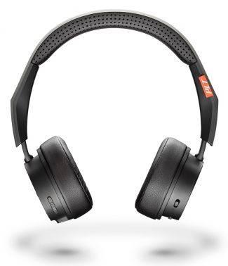 Гарнитура Plantronics BackBeat Fit 505 черный/черный, накладные, крепление оголовье, беспроводные bluetooth