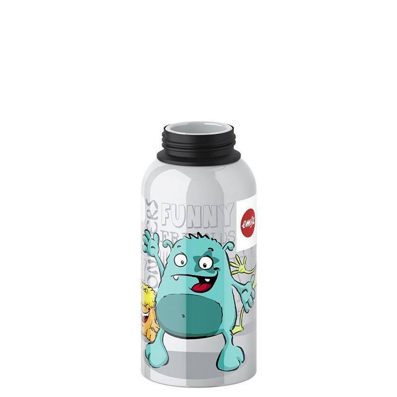 Фляга Emsa Kids Monster 514400 серебристый - фото 4