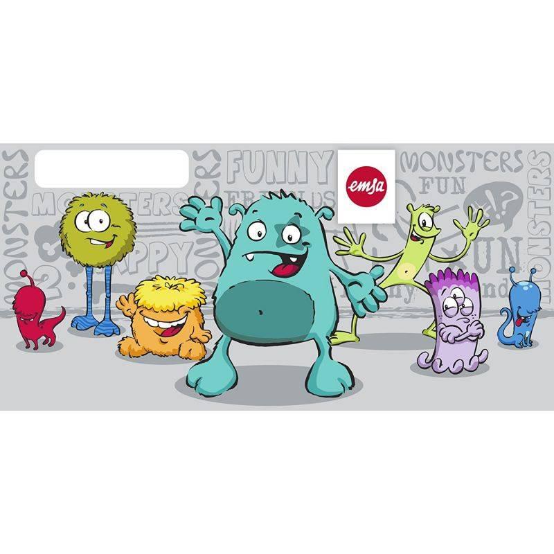 Фляга Emsa Kids Monster 514400 серебристый - фото 5