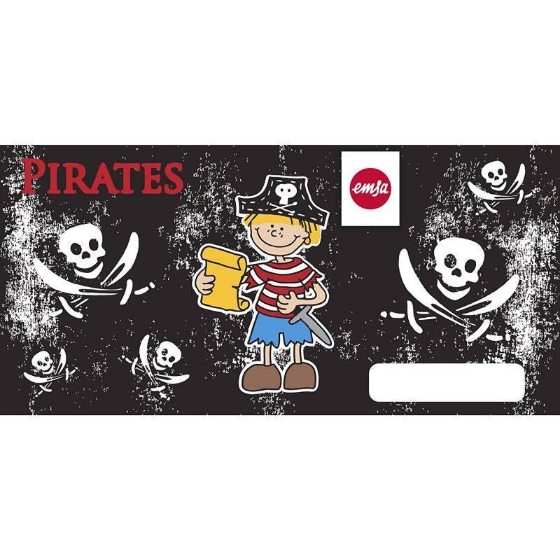 Фляга Emsa Kids Pirate 514392 черный - фото 5
