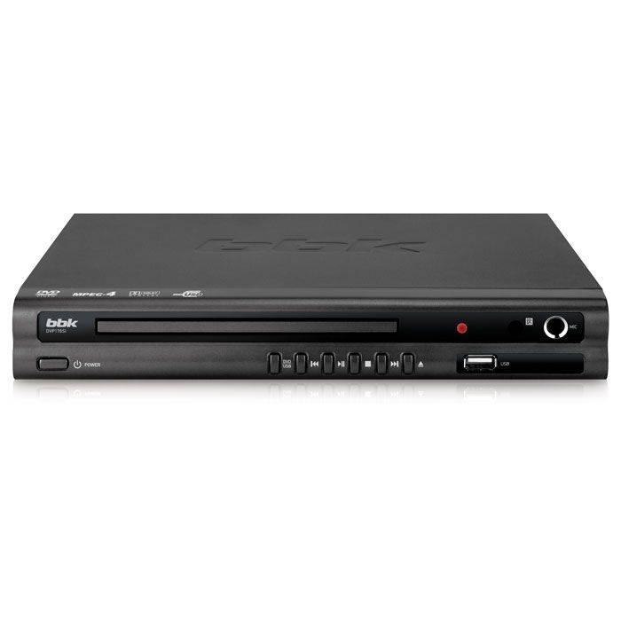 Плеер DVD BBK DVP176SI темно-серый (PLAYER DVP176SI Б/Д Т-СC) - фото 1