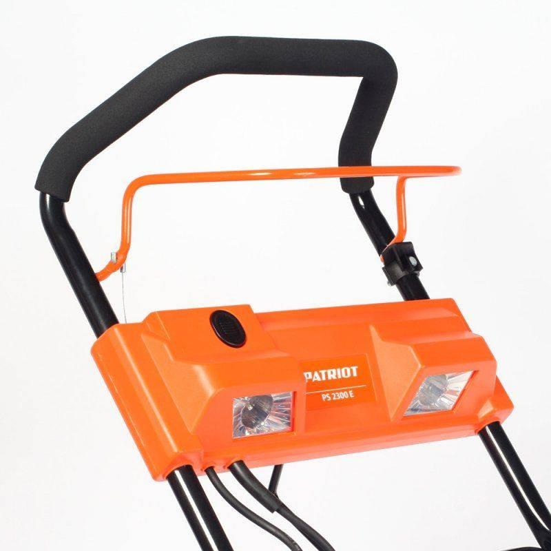 Снегоуборщик электрический Patriot PS 2300 E (426302222) - фото 7