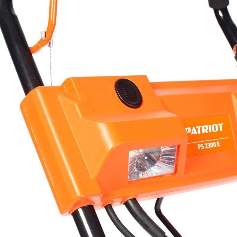 Снегоуборщик электрический Patriot PS 2300 E 2кВт - фото 9