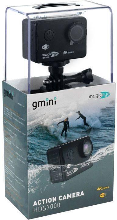 Экшн-камера Gmini MagicEye HDS7000 черный - фото 6