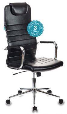Кресло руководителя Бюрократ KB-9 черный (KB-9/ECO)