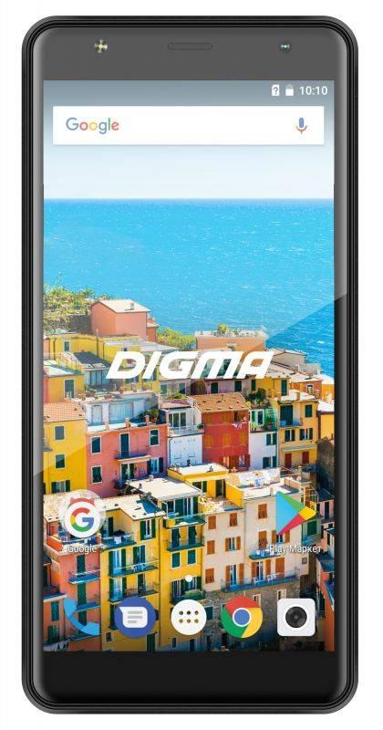 Смартфон Digma B510 3G LINX 16ГБ черный (LT5037MG) - фото 1