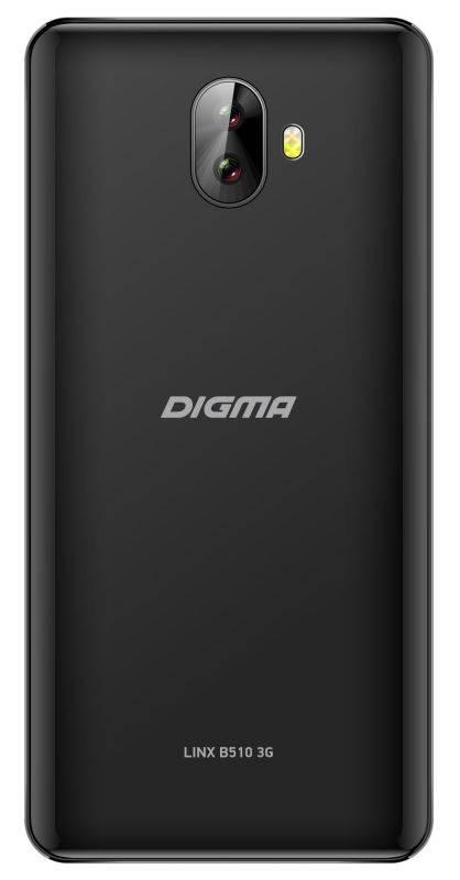 Смартфон Digma B510 3G LINX 16ГБ черный (LT5037MG) - фото 2