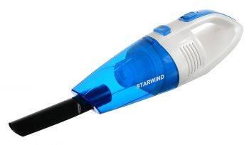 Автомобильный пылесос Starwind CV-140 белый/синий