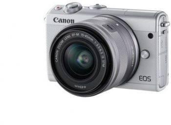 Фотоаппарат Canon EOS M100 kit белый (2210C012)