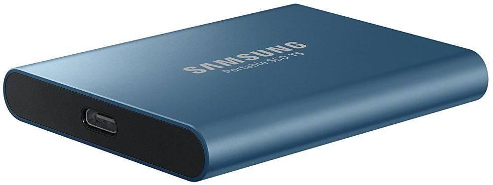 Накопитель SSD 500Gb Samsung T5 MU-PA500B/WW USB - фото 5