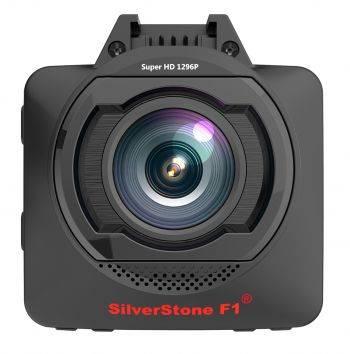 Видеорегистратор Silverstone F1 HYBRID mini черный