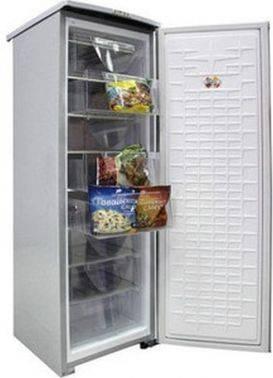 Морозильная камера Саратов 170 серый
