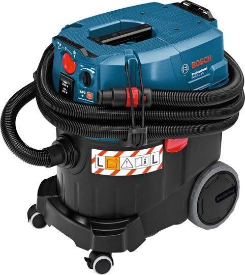 Строительный пылесос Bosch GAS 35 L AFC синий (06019C3200) - фото 1