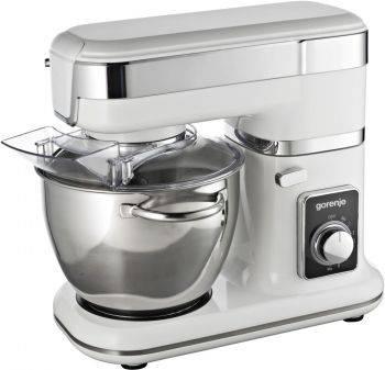 Кухонная машина Gorenje MMC800W планетар.вращ. 800Вт белый / серебристый