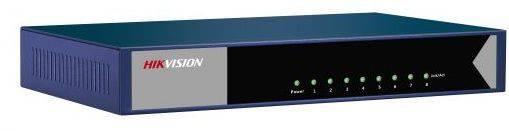 Коммутатор неуправляемый Hikvision DS-3E0508-E - фото 1