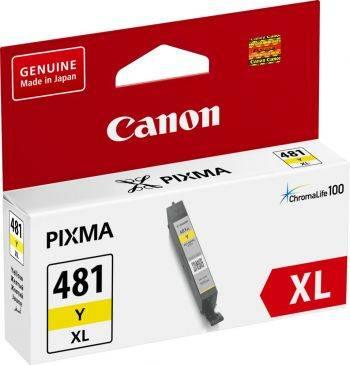 Картридж Canon CLI-481XL Y желтый (2046c001)