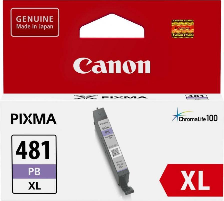 Картридж Canon CLI-481XL PB фото голубой (2048C001) - фото 1