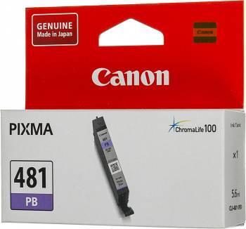 Картридж Canon CLI-481 PB фото голубой (2102C001)