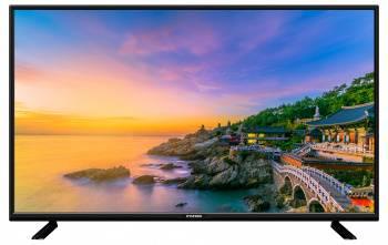 Телевизор LED Hyundai H-LED24F401BS2 черный, диагональ экрана 24 (60.96 см), FULL HD (1080p), частота обновления 60Hz, тюнер DVB-T2, DVB-C, DVB-S2, USB разъем