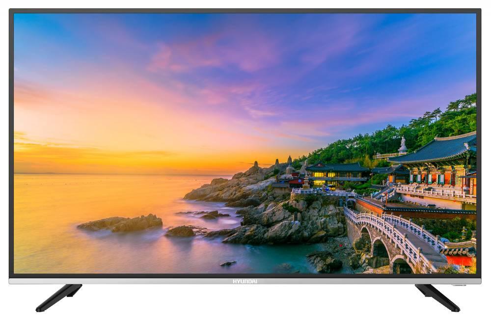 "Телевизор LED 39"" Hyundai H-LED39R401BS2 черный/серебристый - фото 1"