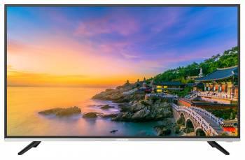 Телевизор LED Hyundai H-LED49F401BS2 черный/серебристый, диагональ экрана 49 (124.46 см), FULL HD (1080p), частота обновления 60Hz, тюнер DVB-T2, DVB-C, DVB-S2, USB разъем