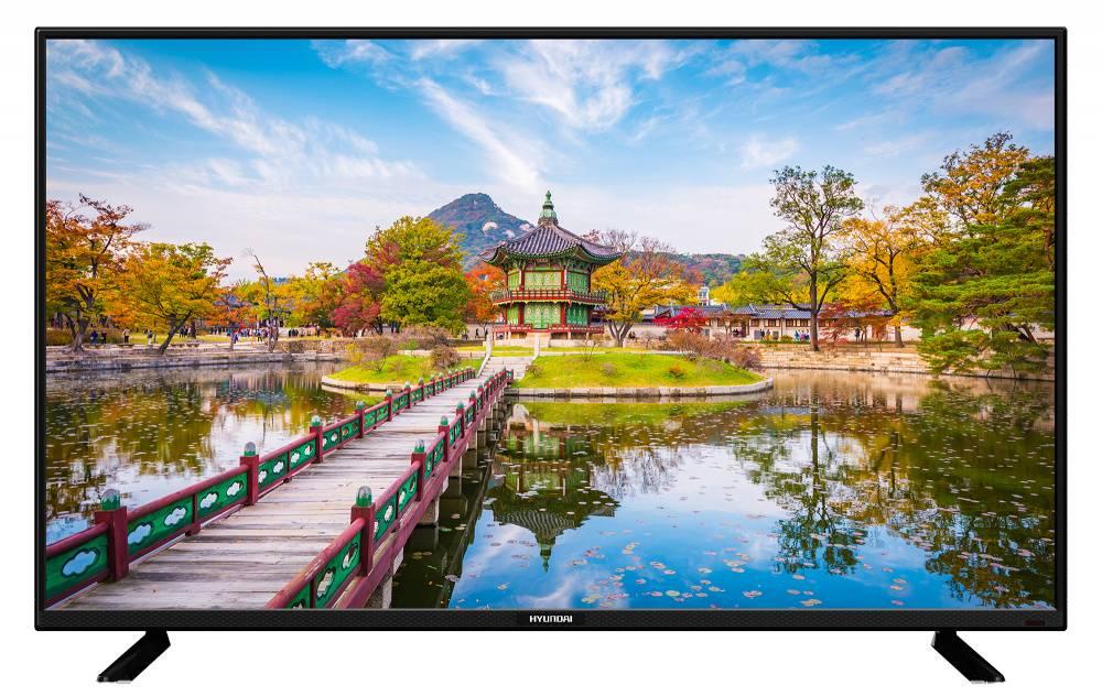 """Телевизор LED 24"""" Hyundai H-LED24F402BS2 черный - фото 1"""