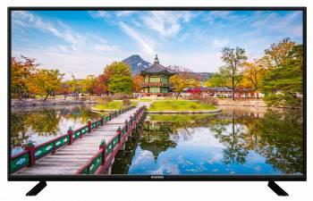 Телевизор LED Hyundai H-LED43F402BS2 черный, диагональ экрана 43 (109.22 см), FULL HD (1080p), частота обновления 60Hz, тюнер DVB-T2, DVB-C, DVB-S2, USB разъем