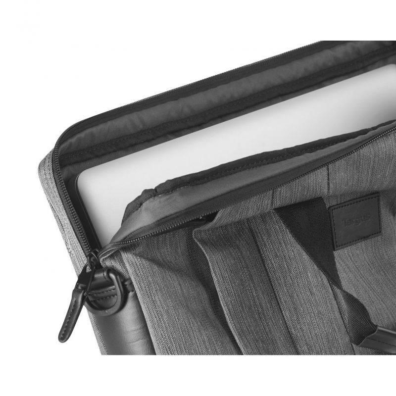 "Сумка для ноутбука 16"" Targus TSS59404EU серый - фото 9"