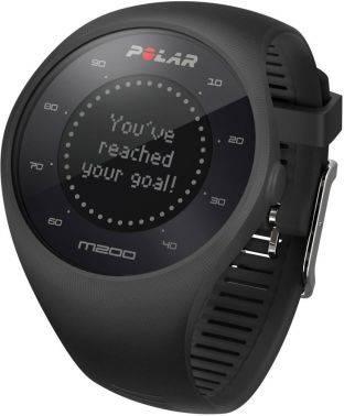 Часы-пульсометр Polar M200 M / L черный