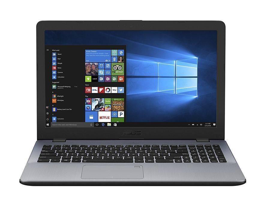 """Ноутбук 15.6"""" Asus VivoBook X542UA-GQ573T темно-серый (90NB0F22-M07700) - фото 1"""