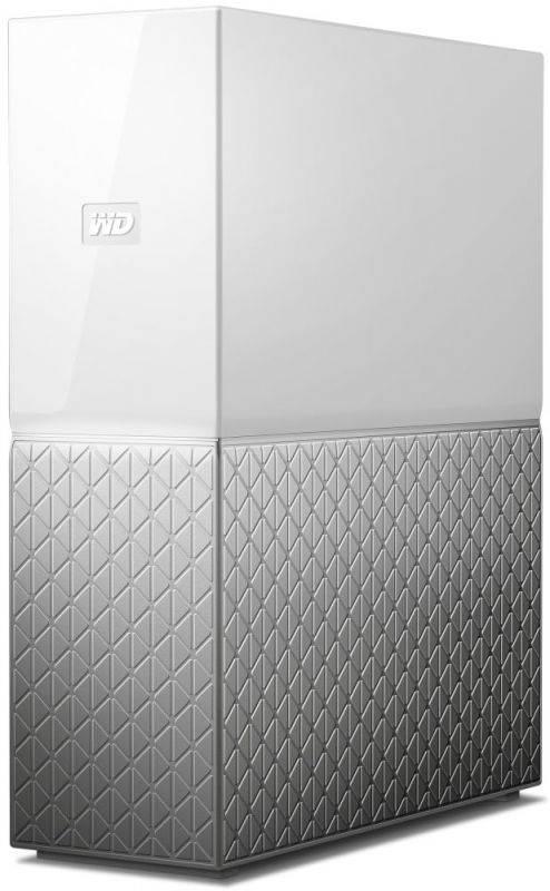 Сетевое хранилище NAS WD 3Tb WDBVXC0030HWT-EESN белый - фото 3