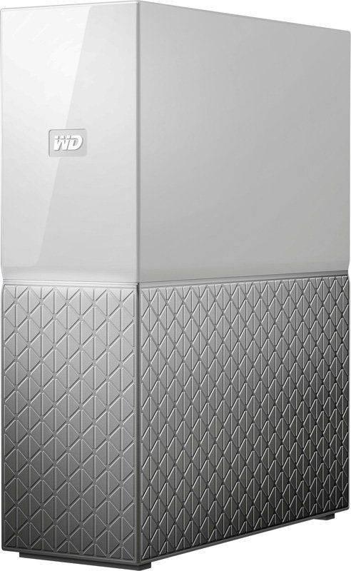 Сетевое хранилище NAS WD 4Tb WDBVXC0040HWT-EESN серебристый - фото 1
