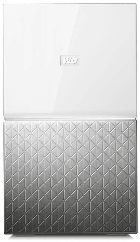 Сетевое хранилище NAS WD 4Tb WDBMUT0040JWT-EESN белый - фото 1