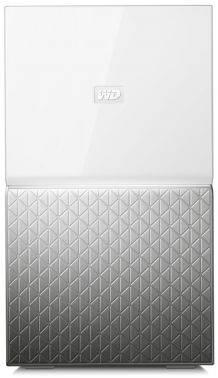 Сетевое хранилище NAS WD 4Tb WDBMUT0040JWT-EESN белый