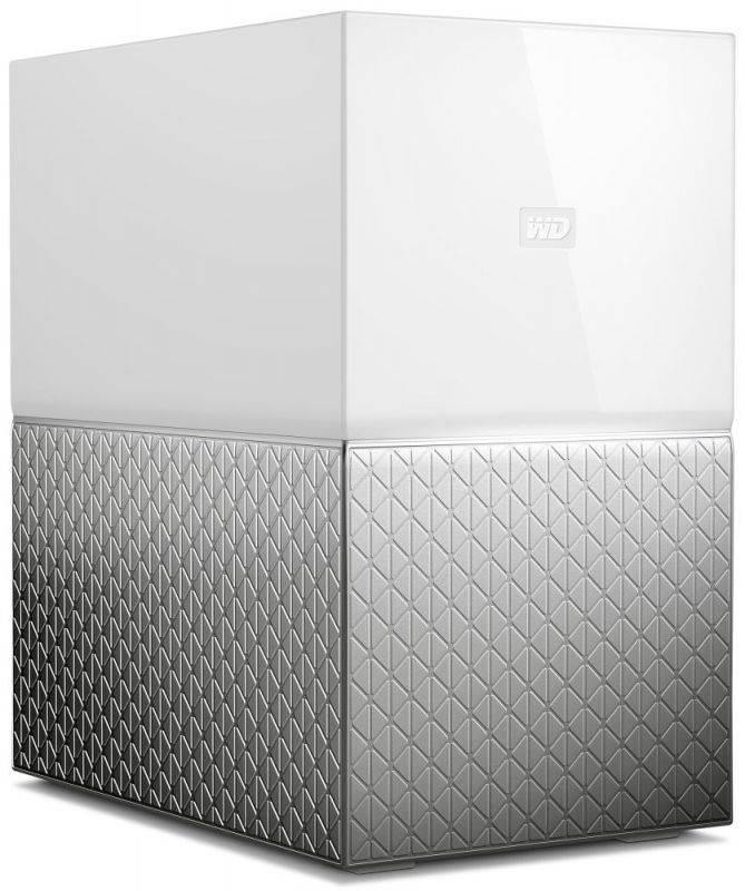 Сетевое хранилище NAS WD 4Tb WDBMUT0040JWT-EESN белый - фото 2