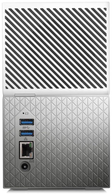 Сетевое хранилище NAS WD 8Tb WDBMUT0080JWT-EESN белый - фото 1