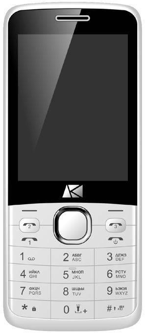 Мобильный телефон ARK U281 белый - фото 1