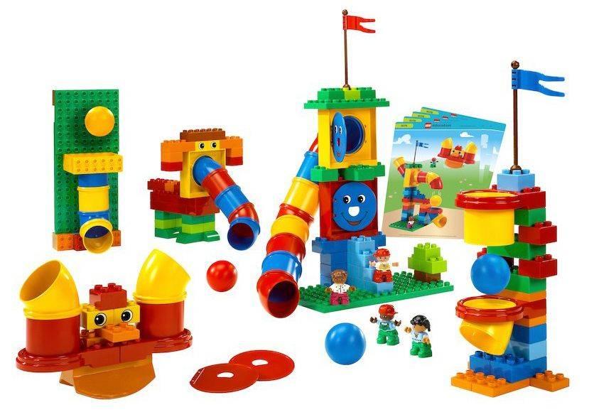 Конструктор Lego Education Duplo Набор с трубками [9076] - фото 1
