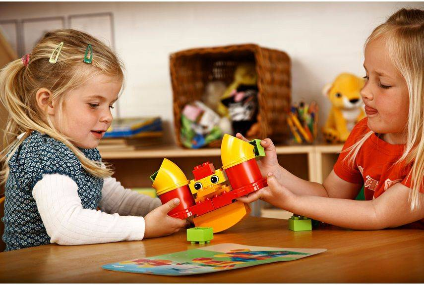 Конструктор Lego Education Duplo Набор с трубками [9076] - фото 6