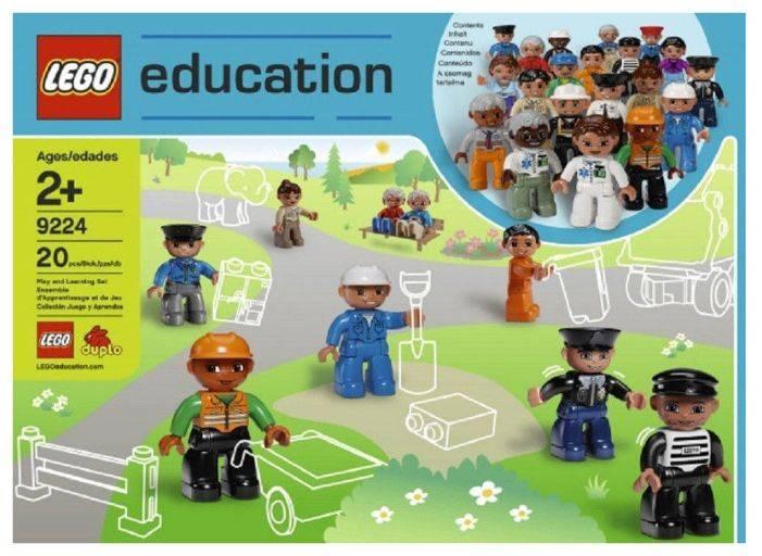 Конструктор Lego Education Duplo Городские жители [9224] - фото 2