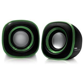 Колонки BBK CA-301S черный / зеленый 2.0