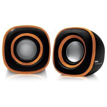 Колонки BBK CA-301S черный/оранжевый