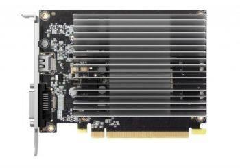 Видеокарта Palit PA-GT1030-2GD5 KalmX, процессор nVidia GeForce GT 1030 1227 МГц, объем видеопамяти 2048 Мб 64 бит DDR5 6000 МГц, интерфейс PCI-E, разъёмы DVIx1/HDMIx1, поддержка HDCP, low profile, Ret